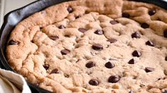 Skillet Chocolate Chip Cookie - Grandparents.com
