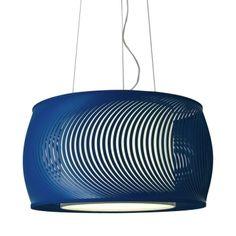 Luminária Eólica Azul
