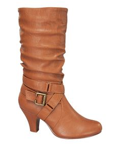 Another great find on #zulily! Tan Bibi Boot #zulilyfinds