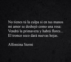 〽Alfonsina Srorni...