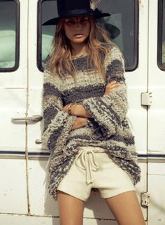 Oversized Sweater in Vogue Germany
