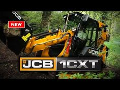 JCB 1CXT The World's smallest backhoe - Now with tracks! - YouTube