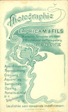 PRICAM - Genève (ebay)