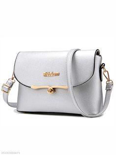 54f81c91dbac Elegant Diamante Pu Crossbody Bag