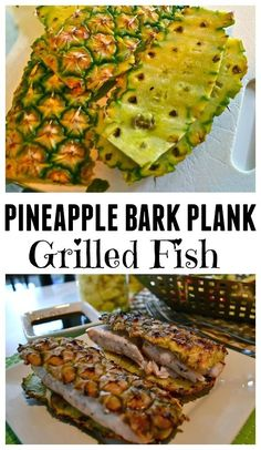 I will just get straight to the point here. *  Instead of grilling fish on a cedar plank.  Use pineapple Bark! ( I grilled mahi mahi)   The juices from the…