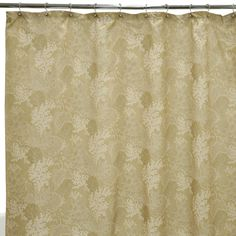 Amazon.com - Waverly Traditions by Famous Home Fashions Hidden Reef Sand 100-Percent Polyester Shower Curtain