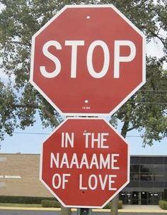 ZNAK LOVE MIŁOŚĆ STOP