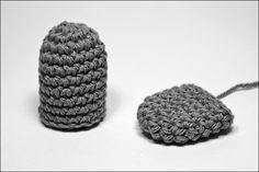 Bichus Amigurumis: Amigurumis Formas Básicas - SemiCillindro y Ovalo