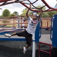 Holiday Family Activity Idea, Day 30: Go to the playground or ball field. Many parks have playgrounds and some schools allow the public to go on their playgrounds and ball fields after hours. Take the whole family along!