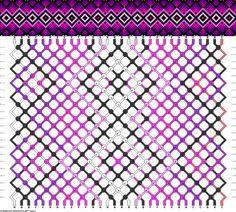Muster # 92413, Streicher: 30 Zeilen: 22 Farben: 9
