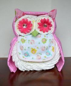 Owl Diaper Gift