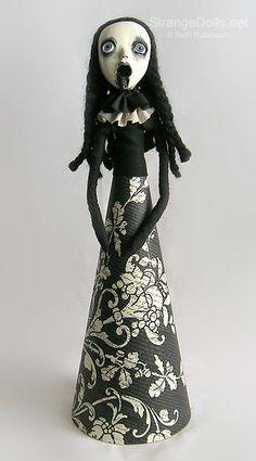 creepy christmas ornaments   Beth Robinson's Strange Dolls