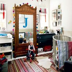 Child's room | Take a tour around an eclectic garden flat | House tours | PHOTO GALLERY | Livingetc