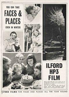 1953 Ilford HP3 Film