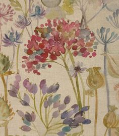 Thistle Glen Fabric Is A Stunning Thistle Fabric With A