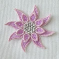 3D FSL Flowers machine embroidery designs