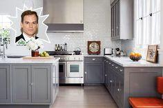 Michael C. Hall - Stunning Celebrity Kitchens - Photos No-Blood Spatter