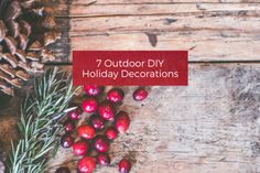 7 Outdoor DIY Holiday Decorations