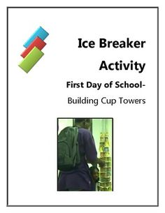 Get your students moving, building, thinking and collaborating with this fun and intuitive activity. While they are racing against the clock to bui...