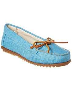 e20c520bd09 Minnetonka Women s Canvas Moccasin Review