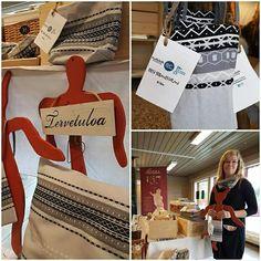 Kaihlalahti Clothing Uusi Suomussalmi -kuosiset tuotteet // New Suomussalmi design products // www.kaihlalahti.com #kaihlalahti #clothing #kaihlalahticlothing #designfromfinland #madeinfinland #scandinavianstyle #scandinavianinterior #scandinavianhome #scandinaviandesign #nordichome #modernhome #home #decoration #decorative #textiles #uusisuomussalmikuosi #finnishdesign #interior #finland #cloth #clothes #kainuu #suomussalmi Design Products, Scandinavian Style, Finland, Textiles, Decoration, Interior, Clothing, How To Make, Shopping