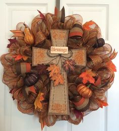 Fall Wreath from Pinterest