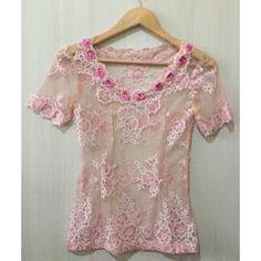 Temukan dan dapatkan Kebaya/blouse Brokat semi Perancis  hanya Rp 125.000 di Shopee sekarang juga! http://shopee.co.id/imanggoethnic/47298788 #ShopeeID