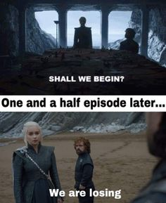 That didn't take long. Game of Thrones.