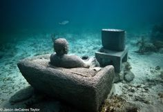 underwater sculptures - Google Search