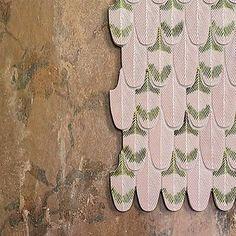 #happysunday /// #plumage #plumagepower #pink #feather #Botteganove #design #cristinacelestino #interiordesign #mosaic #ceramic #madeinitaly #handmade #texture #pattern