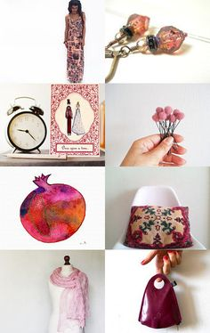 Big love for pink by maya ben cohen on Etsy--Pinned with TreasuryPin.com