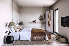 A famous name in travel defies expectations with blissful Greek island design hotel concept Casa Cook Kos. Room, Gravity Home, Bohemian Interior, Interior, Kos Hotel, Bedroom Interior, Home Decor, Interior Design, Hotels Design