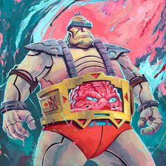 Rich Pellegrino - The Mighty Krang