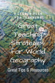 Teaching Geography is one of the best Social Studies gigs to get! There are so many amazing resources for teaching the course, and fun strategies for teaching Geography are also unlimited. Follow this Quick Tips for Teaching Geography Series to learn those strategies for your classroom! #geography #geographyteacher #geographylesson #historyteacher #historylesson