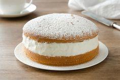 torta soffice con crema al latte ricetta
