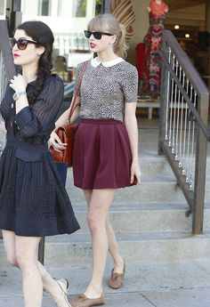 How To Wear Skirt Like Tailor Swift