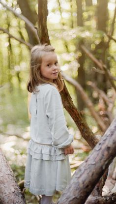 Fairy Forest  - Tia-Aïna AW17-18 Collection.   #modeenfant #kidsfashion #girlsdress #fashion #enfance #childhood