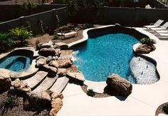 Ideas of Inground Pool Kits Material and Installation: Fabulous Inground Pool Kits Natural Design White Lounge ~ moabc.net Pool Backyard Designs Inspiration