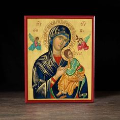 Our Lady of Perpetual Help (XXIc) Icon - T145 - Legacy Icons