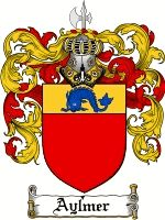 AYLMER Family Crest / AYLMER Coat of Arms  The surname of AYLMER was a baptismal name 'the son of Aylmer' an ancient and popular font name, ... #code of arms #family shield #genealogy #heraldry #crests #family #reunion #heritage #geneology