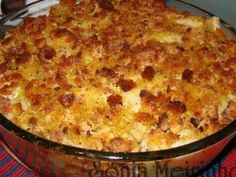 Bacalhau com batatas no forno com crosta de broa, foto 1 Cod Recipes, Salad Recipes, Cooking Recipes, Healthy Recipes, Cooking Classes, Cooking Time, Good Food, Yummy Food, Portuguese Recipes