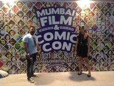 Mumbai Film & Comic Con 2014 (MFCC) - And that's my Steampunk outfit in its entirety.