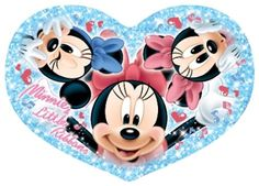 Minnie Mouse and her nieces Millie & Melody