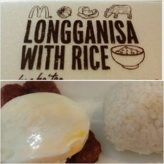 #mcdo #breakfast #longganisa #sunnysideup w/ #rice with  wifey:-) #mcdonalds #food #yummy #philippines カミさんと #朝マック #ロンガニーサ #ライス #朝ごはん