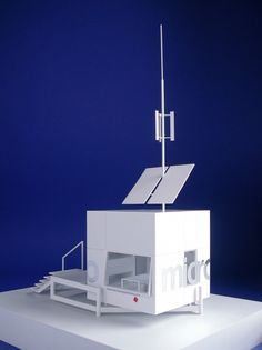 Micro-compact home concept, complete with solar and wind energy. I need this.