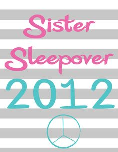 Cute Ideas for a fun night with your sisters