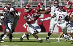 Damien Harris quietly ran for 1,037 yards as a sophomore.
