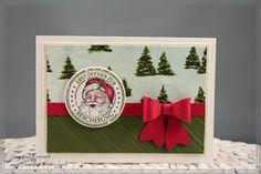 Stampin-Friends: Geldscheinkarte vom Weihnachtsmann