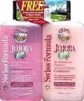Jojoba shampoo and conditioner ~ used this for a while :)