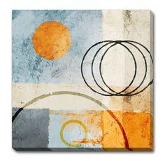Magazin online de tablouri si postere de arta, tablouri canvas decoratiuni pictura moderna abstract picturi religioase reproduceri de arta fotografii - ABSTRACT - Circles All Around I